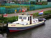 "ex WSA-Schlepper Sperber / derzeit als Privatboot ""DEBORA E"" in Holland aktiv"